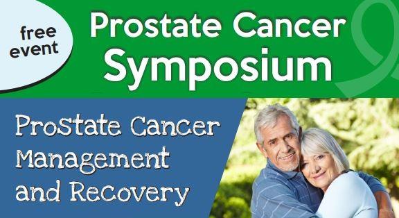 5D Clinics - PCaHelp Prostate Cancer Symposium Flyer header